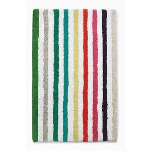 NWT Kate Spade ♠️ Candy Stripe Bath Mat